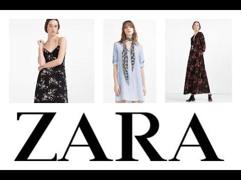 Vestidos en zara primavera verano 2019